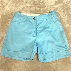 H&M | Women's Slack Shorts Powder Blue Size 4